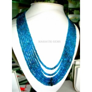 Natural Apatite  Necklace