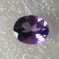 Amethyst Oval Faceted  2.97 Carats