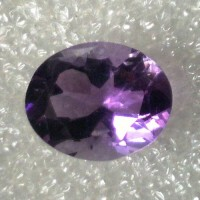 Amethyst Oval Faceted  3.04 Carats