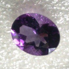 Amethyst Oval Faceted  3.06 Carats