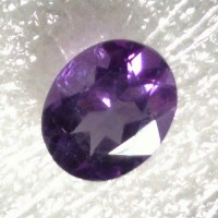 Amethyst Oval Faceted  3.15 Carats