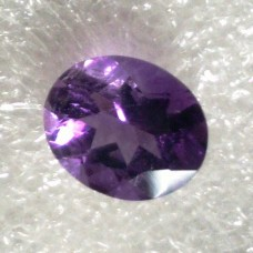 Amethyst Oval Faceted  3.19 Carats