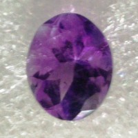 Amethyst Oval Faceted  3.51Carats