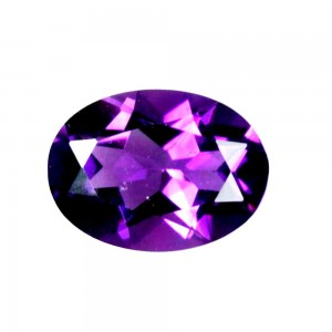 Amethyst Oval Faceted 2.30 - 2.60 Carats
