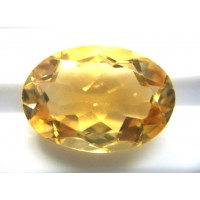 Natural Citrine Oval -11.41ct