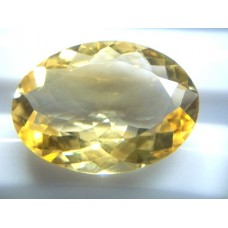 Natural Citrine Oval-12.82ct