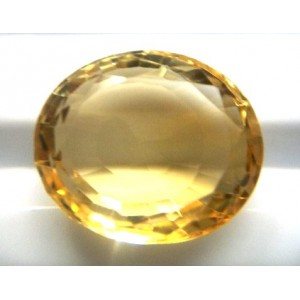 Natural Citrine Oval-13.83ct