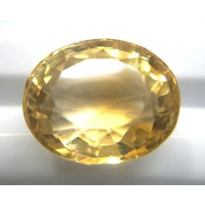 Natural Citrine Oval-15.18ct