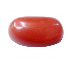 Natural Oval Red Coral 4.93 Carat / 5.42 Ratti