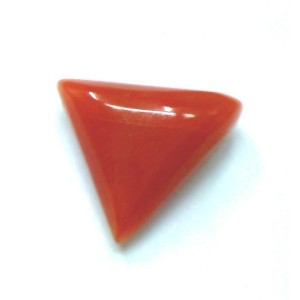 Natural Tringle Red Coral  3.02 Carat / 3.32 Ratti