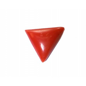 Natural Tringle Red Coral  4.37Carat /  4.80Ratti