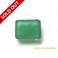 Natural Emerald Octagon 5.30Ct (5.82 Ratti)