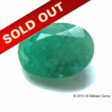 Natural Emerald Oval Faceted 3.50Ct