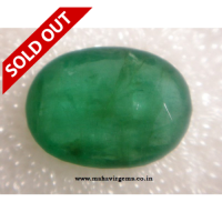 Natural Emerald Oval 5.09Ct
