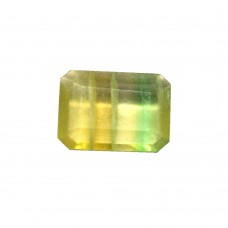 Natural Fluorite Octagon (Emerald) Cut 03.66 Carats
