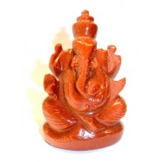 Elephant Head God (Ganesha) in Brown Goldstone.