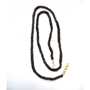 Garnet Chain Necklace of 27 Inch