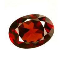 Garnet Red Oval Shaped 3 Ratti