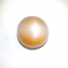 Natural Peach Pink Moonstone Cat's Eye Gemstone 4.14 Carat