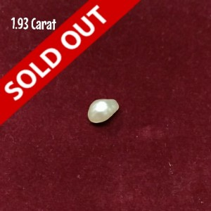Natural Pearl 1.93 Carats