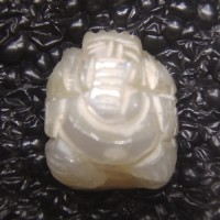 Ganesha Carved in Pearl 03.67carats