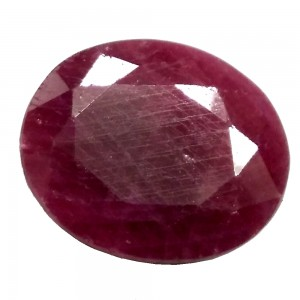 Natural Ruby 5.62 Carats/ 6.18 Ratti