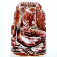 Elephant Head God ( Lord Ganesha) in Natural Ruby Gemstone 75.75 Carats