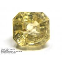 Natural Yellow Sapphire 08.83Ct (09.70 Ratti)