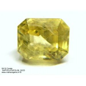 Natural Yellow Sapphire 09.32Ct